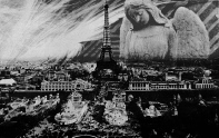 I stared at the Eiffel Tower around the bend of the river. From that distance it was easy to pretend it was still new, a shining gleaming symbol of possibility, instead of just a metal tower, vandalized with chewing gum and rusting against the night sky.